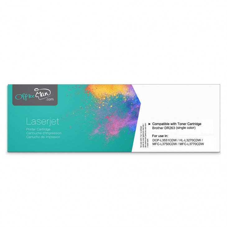 DR263CL 代用彩色打印鼓 (單個)